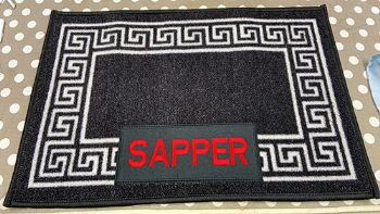 Embroidered Mat